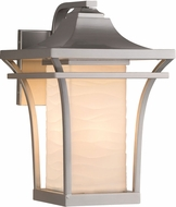 Justice Design PNA-7524W Porcelina Summit Contemporary Exterior Wall Lighting Sconce