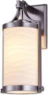 Justice Design PNA-7664W Porcelina Cypress Modern Exterior Sconce Lighting