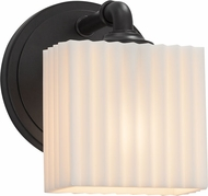 Justice Design PNA-8467-55 Porcelina Bronx Contemporary Wall Sconce