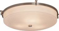 Justice Design PNA-8988 Porcelina Era Modern LED Flush Lighting