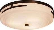 Justice Design PNA-8998 Porcelina Atlas Contemporary LED Flush Mount Lighting