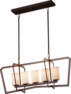 Justice Design POR-8015-10 Limoges Aria Contemporary Kitchen Island Light