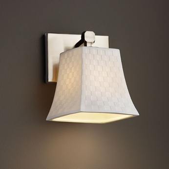 Justice Design POR-8421 Tetra Limoges Wall Mounted Lamp