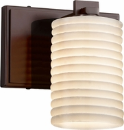 Justice Design POR-8441 Limoges Era Contemporary Wall Mounted Lamp