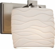Justice Design POR-8447-30 Limoges Era Contemporary Wall Light Sconce