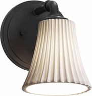 Justice Design POR-8461 Limoges Bronx Modern Sconce Lighting