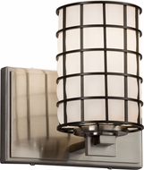 Justice Design WGL-8441-10 Wire Glass Era Contemporary Light Sconce
