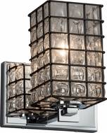 Justice Design WGL-8441-15 Wire Glass Era Modern Lighting Sconce