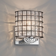 Justice Design WGL-8497 Wire Glass Malleo Modern LED Wall Sconce