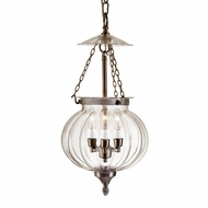 JVI Designs 1006 12 Inch Diameter Transitional Style 3 Candle Hanging Light