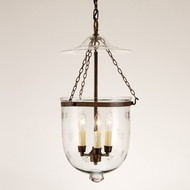 JVI Designs 1009 3 Candle 9 Inch Diameter 17 Inch Tall Pendant Light