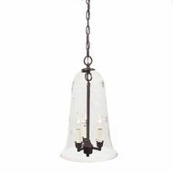 JVI Designs 1038 3 Candle Transitional 11 Inch Diameter Mini Bar Lighting
