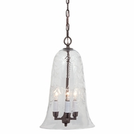 JVI Designs 1039 Transitional Style 11 Inch Diameter Mini Pendant Light