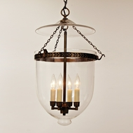 JVI Designs 1057 4 Candle Transitional Drop Ceiling Lighting With Finish Options