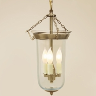 JVI Designs 1097 Large 21 Inch Tall Transitional 3 Candle Drop Lighting