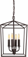 JVI Designs 1141-08 Austin Oil Rubbed Bronze Foyer Lighting Fixture