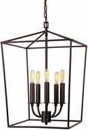 JVI Designs 1142-08 Austin Oil Rubbed Bronze Foyer Lighting