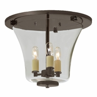 JVI Designs 1181-08 Greenwich Oil Rubbed Bronze Finish 12.25  Wide Ceiling Lighting