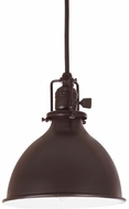 JVI Designs 1200-08-M4 Union Square Nautical Oil Rubbed Bronze Mini Lighting Pendant