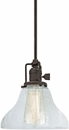 JVI Designs 1200-08-S11-CB Union Square Oil Rubbed Bronze Mini Pendant Light