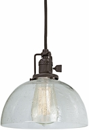 JVI Designs 1200-08-S12-CB Union Square Oil Rubbed Bronze Mini Pendant Lamp