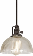 JVI Designs 1200-08-S12-CR Union Square Oil Rubbed Bronze Mini Hanging Lamp
