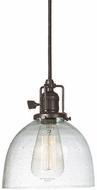JVI Designs 1200-08-S5-CB Union Square Oil Rubbed Bronze Mini Hanging Pendant Lighting