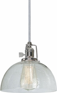 JVI Designs 1200-15-S12-CB Union Square Polished Nickel Mini Pendant Hanging Light