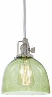 JVI Designs 1200-15-S5-LB Union Square Polished Nickel Mini Drop Ceiling Lighting