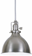 JVI Designs 1200-17-M4 Union Square Nautical Pewter Mini Hanging Lamp