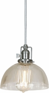 JVI Designs 1200-17-S12-CR Union Square Pewter Mini Drop Lighting Fixture