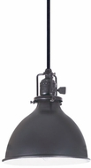 JVI Designs 1200-18-M4 Union Square Nautical Gun Metal Mini Hanging Light