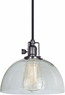 JVI Designs 1200-18-S12-CB Union Square Gun Metal Mini Hanging Lamp