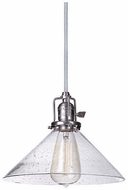 JVI Designs 1200-18-S2-CB Union Square Gun Metal Mini Pendant Lamp