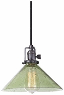 JVI Designs 1200-18-S2-LB Union Square Gun Metal Mini Pendant Lighting Fixture