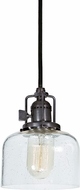 JVI Designs 1200-18-S4-CB Union Square Gun Metal Mini Pendant Light Fixture