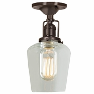 JVI Designs 1202-08-S9 Union Square Oil Rubbed Bronze Finish 9.5  Tall Home Ceiling Lighting