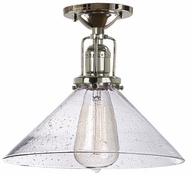 JVI Designs 1202-15-S2-CB Union Square Polished Nickel Ceiling Light