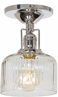 JVI Designs 1202-15-S4-CR Union Square Polished Nickel Flush Mount Ceiling Light Fixture