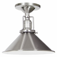 JVI Designs 1202-17-M3 Union Square Pewter Finish 8  Wide Ceiling Lighting