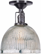 JVI Designs 1202-18-S5-MP Union Square Madison Modern Gun Metal Overhead Lighting