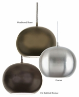 JVI Designs 1207 Modern 12 Inch Diameter Mini Pendant Light Fixture