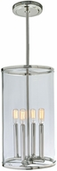 JVI Designs 1244-15 Gramercy Modern Polished Nickel 10  Mini Drop Ceiling Lighting