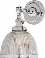 JVI Designs 1251-15-S5-MP Soho Madison Contemporary Polished Nickel Wall Sconce Lighting