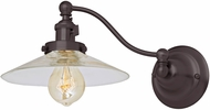 JVI Designs 1253-08-S1 Soho Ashbury Contemporary Oil Rubbed Bronze Wall Swing Arm Lamp