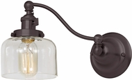 JVI Designs 1253-08-S4 Soho Shyra Contemporary Oil Rubbed Bronze Wall Swing Arm Light
