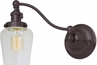 JVI Designs 1253-08-S9 Soho Liberty Modern Oil Rubbed Bronze Swing Arm Wall Lamp