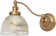 JVI Designs 1253-10-S5-MP Soho Madison Contemporary Satin Brass Wall Swing Arm Light