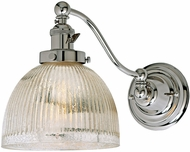 JVI Designs 1253-15-S5-MP Soho Madison Contemporary Polished Nickel Wall Swing Arm Lamp