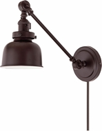 JVI Designs 1255-08-M2 Soho Oil Rubbed Bronze Wall Swing Arm Lamp